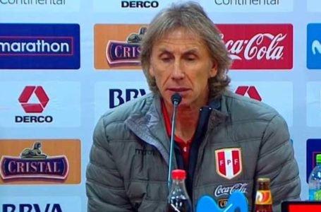 """Gareca: """"El fútbol debe darle garantías al Gobierno de que puede reactivarse"""""""