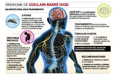 Guillain Barré: síndrome no es contagioso y puede prevenirse