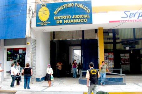 Designan fiscal de extinción de dominio para Huánuco