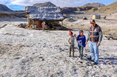Heladas y friaje afectan a 42 distritos de Huánuco