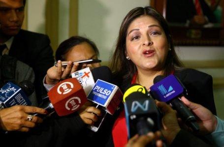 Karina Beteta pide al JNE anular proceso para elecciones congresales del 2020