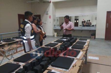 Anticorrupción interviene instalaciones del Gorehco por presuntas irregularidades en compra de laptops