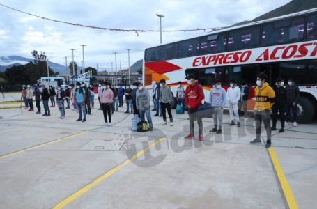 Otro grupo de 200 personas serán trasladadas desde Lima a Huánuco