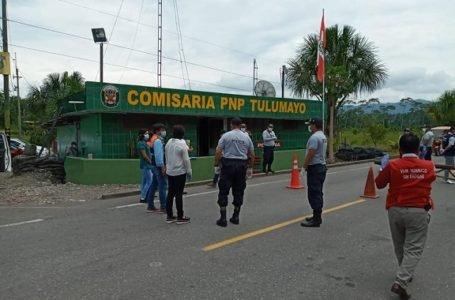 Autoridades visitan comisaría de Tulumayo, en Leoncio Prado
