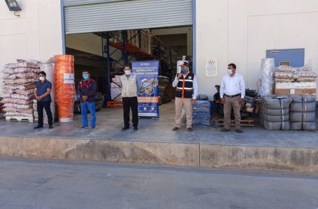 Entregan 9 toneladas de ayuda humanitaria a cuatro distritos de Huánuco afectados por lluvias