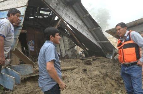 Declaran en emergencia ocho distritos de Huánuco para reparar daños a causa de las lluvias