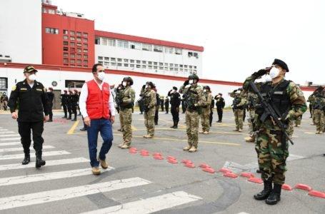 5,721 policías se reincorporan a funciones con moral al tope tras superar mal