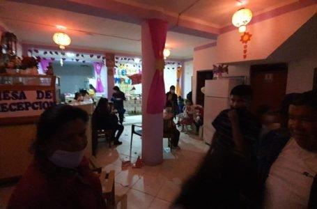 Dos de Mayo: organizan fiesta infantil en pleno estado de emergencia con invitados incluido