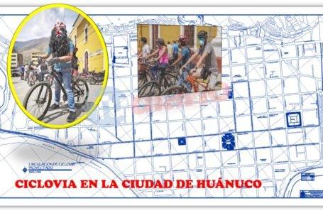 ¡Buenas noticias! La ciudad de Huánuco tendrá ciclovía de 9 kilómetros
