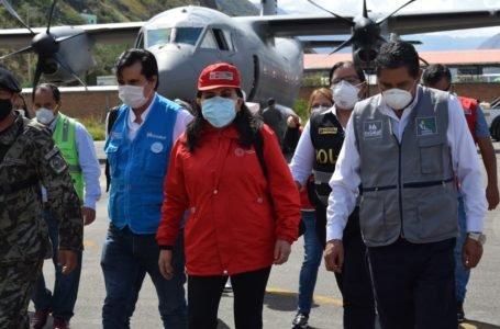 Ministra Gloria Montenegro llegará mañana a Huánuco para reforzar atención frente al Covid-19