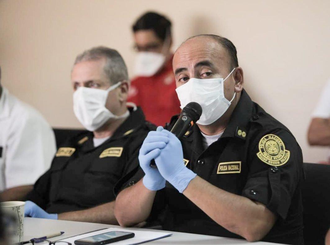 General Carlos Tineo indicó que solo el 10% de la población huanuqueña acata la cuarentena desde la flexibilización