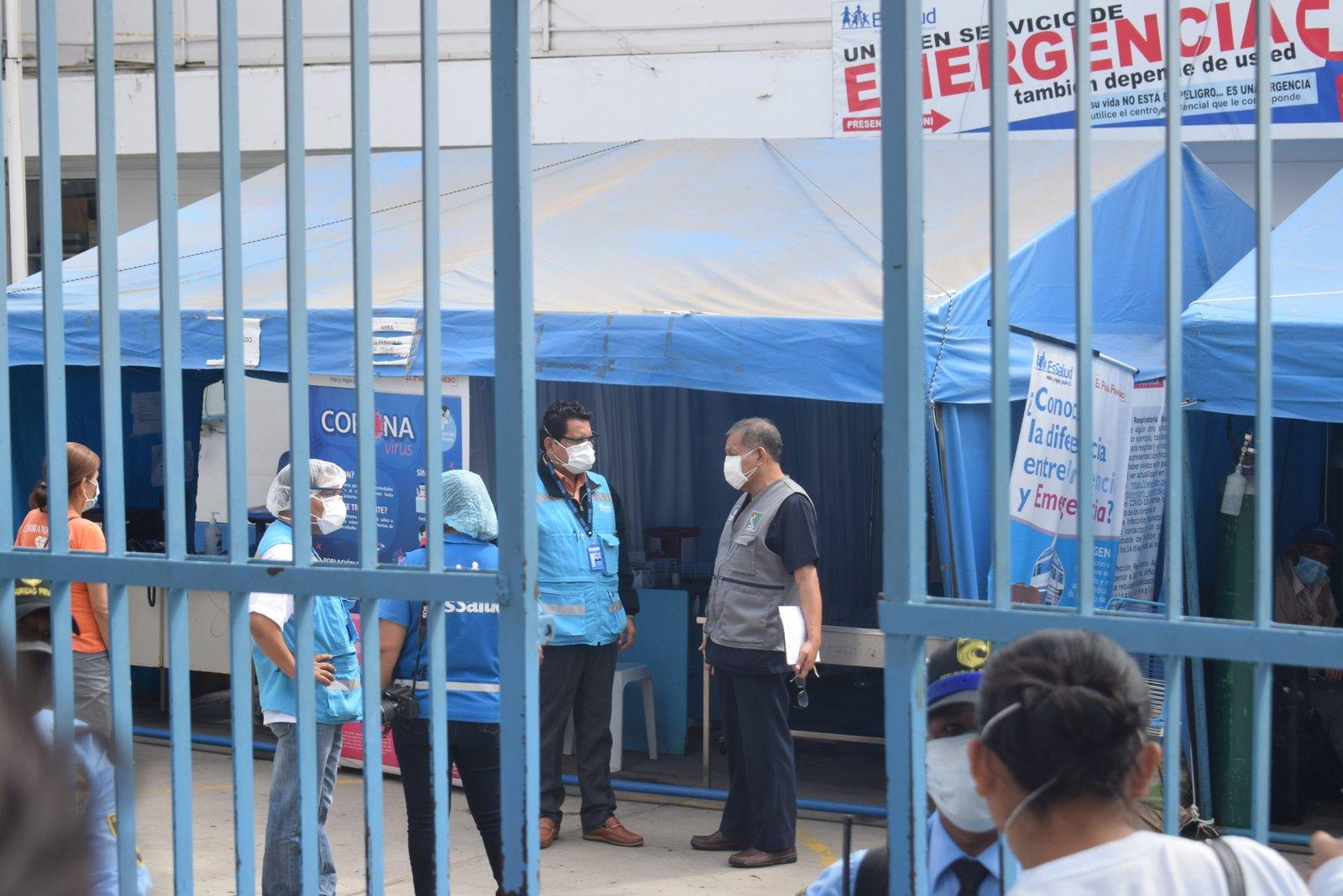 Llegan cuatro ventiladores mecánicos para hospital de EsSalud Huánuco