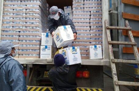 Qali Warma entregó 42.7 toneladas de alimentos a cuatro distritos