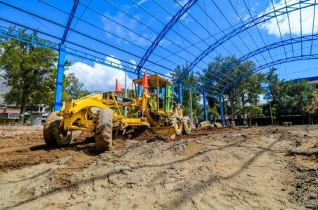 Municipalidad de Huánuco reinicia siete obras en el marco de la reactivación económica