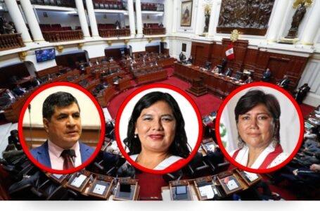 Los tres congresistas por Huánuco votaron en contra de la vacancia presidencial