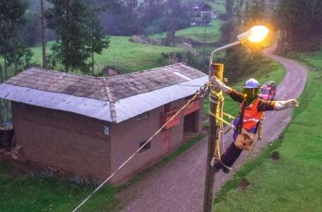 Proyecto para electrificar 408 zonas alejadas de Huánuco está en licitación