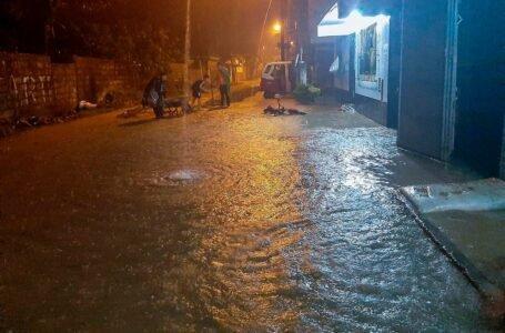 Lluvias causan inundación y dejan 25 personas afectadas y damnificadas en Castillo Grande