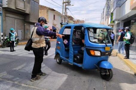 Ordenanza del 'pico y placa' para mototaxis entra en vigencia desde hoy en Huánuco