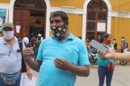 Obreros reclaman a municipalidad de Huánuco haberes adeudados de marzo