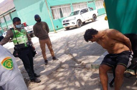Mototaxista casi atropella a policía al huir de intervención