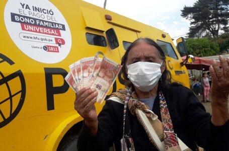 """Gobierno inicio pago de la segunda fase del Bono Familiar mediante """"carritos pagadores"""""""