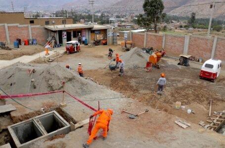 Obra de agua y desagüe de La Esperanza registra 23% de avance