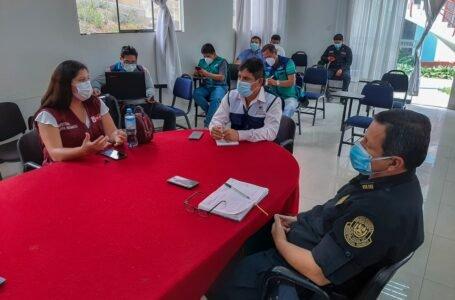 Evalúan acciones para reforzar labores de seguridad y control ciudadano en la actual emergencia