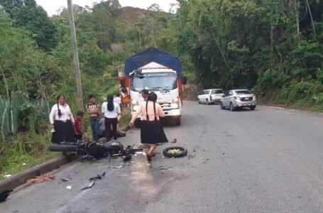 Dos hermanos que regresaban de un paseo familiar mueren en accidente de tránsito