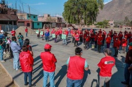 Más de 500 personas se benefician con trabajos temporales en 9 obras