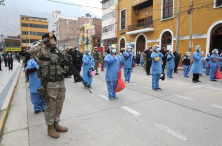 'Operación Tayta' detecta 56 nuevos casos de covid en la ciudad de Huánuco
