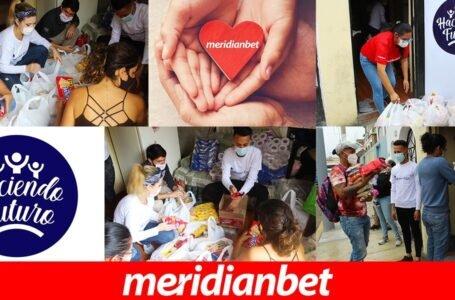 ¡MERIDIANBET BRINDÓ AYUDA A LA ONG HACIENDO FUTURO!