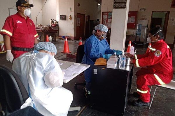 Jefe de bomberos denuncia que no son son considerados para vacunas por temas políticos