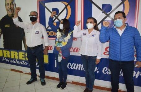 Candidatos de Podemos Perú al Congreso por Huánuco ofrecen trabajo en salud, educación y agricultura