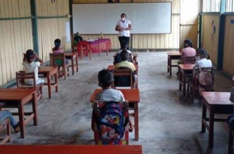 Minedu habilitó 1,634 colegios en Huánuco para clases presenciales