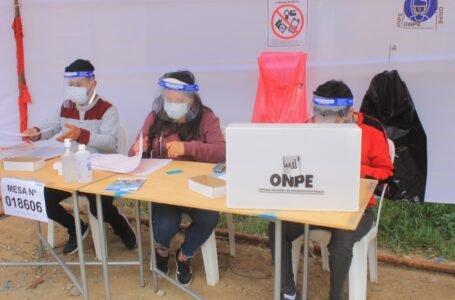 Presidente del JNE sostiene que elecciones generales se desarrollaron con aparente normalidad