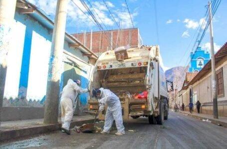 Municipalidad de Huánuco invierte S/6 millones en limpieza pública al año