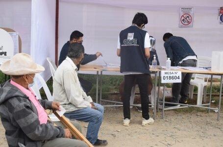 Huánuco: demora en instalación de las mesas marcó el inicio del sufragio