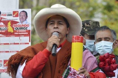 Pedro Castillo: Haremos una campaña en base a propuestas y no de golpes bajos