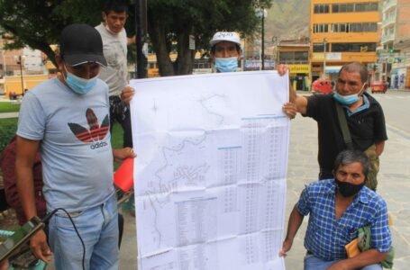 Pobladores solicitan reiniciar obra del anillo vial Héroes de Jactay