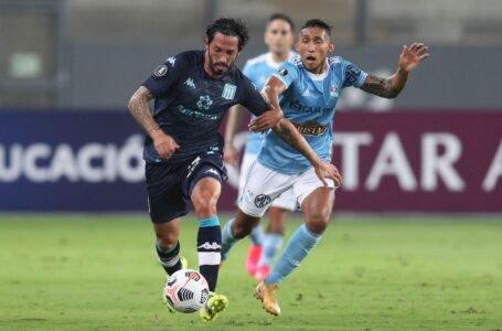 Sporting Cristal prácticamente eliminado de la Libertadores al caer 2 a 0 contra Racing