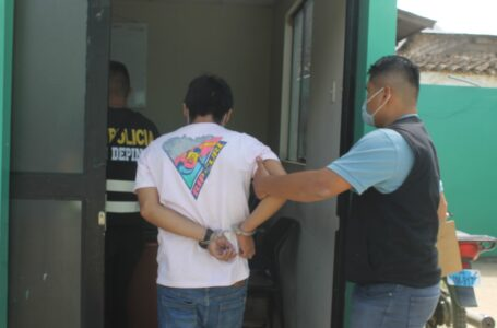 Arrebatador de celular arrestado por vecinos es enviado a prisión