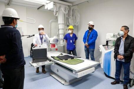 Elaboran plan para garantizar operatividad del nuevo Hospital Regional Hermilio Valdizán