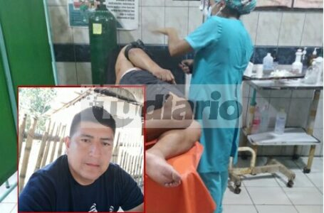 Espectador de encuentro deportivo es atacado a balazos por sicario en Aucayacu