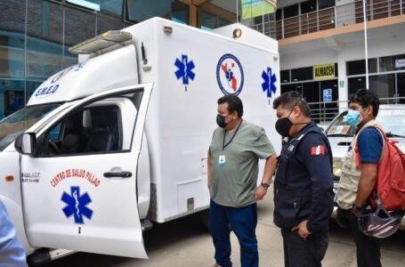 Devuelven ambulancia al centro de salud de Pillao