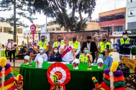 Comerciantes, microempresarios y artesanos amarilenses en actividades por el Bicentenario