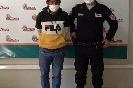 Agricultor es detenido sindicado de agredir sexualmente a su familiar