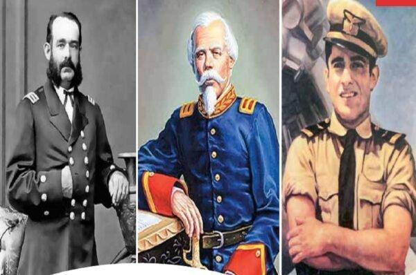 Nuestros héroes del Bicentenario: Grau, Bolognesi y Quiñones siempre presentes