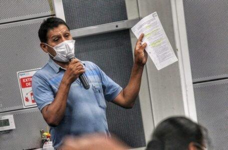 Según dirigente de agricultores no hay fecha para iniciar construcción de canal de riego en Conchumayo