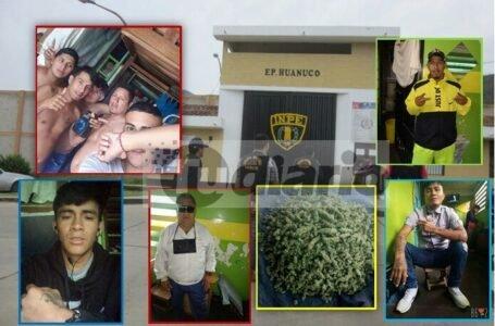 Droga y corrupción campea en el penal de Potracancha
