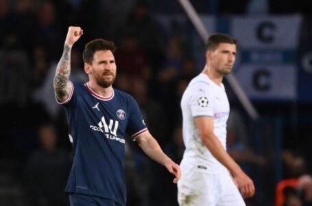 Liga de Campeones: Un doblete de Messi permite al PSG remontar al Leipzig